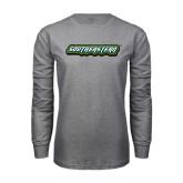 Grey Long Sleeve T Shirt-Southeastern