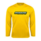 Syntrel Performance Gold Longsleeve Shirt-Southeastern