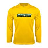 Performance Gold Longsleeve Shirt-Southeastern