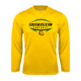 Syntrel Performance Gold Longsleeve Shirt-Southeastern Football