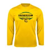 Performance Gold Longsleeve Shirt-Southeastern Football