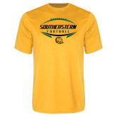 Performance Gold Tee-Southeastern Football