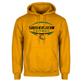 Gold Fleece Hoodie-Southeastern Football