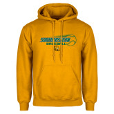Gold Fleece Hoodie-Southeastern Baseball w/ Ball