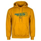Gold Fleece Hoodie-Southeastern Baseball w/ Ball
