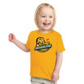 Toddler Gold T Shirt-Official Logo