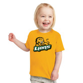 Toddler Gold T Shirt-Lions w/Lion