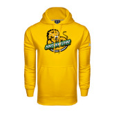 Under Armour Gold Performance Sweats Team Hoodie-Official Logo