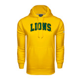 Under Armour Gold Performance Sweats Team Hoodie-Arched Lions