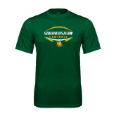 Performance Dark Green Tee-Southeastern Football