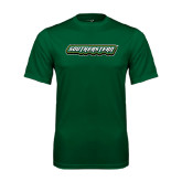 Performance Dark Green Tee-Southeastern