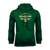 Dark Green Fleece Hood-Southeastern Football