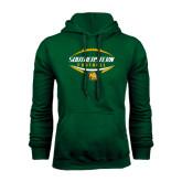 Dark Green Fleece Hood-Southeastern Football