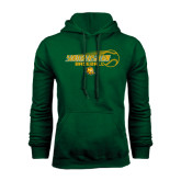 Dark Green Fleece Hood-Southeastern Baseball w/ Ball