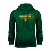 Dark Green Fleece Hood-Southeastern Baseball w/ Ball