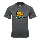 Under Armour Carbon Heather Tech Tee-Lions w/Lion