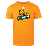 Adidas Gold Logo T Shirt-Lions w/Lion