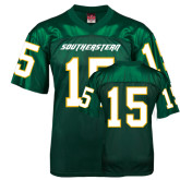 Replica Dark Green Adult Football Jersey-#15