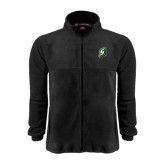 Fleece Full Zip Black Jacket-S