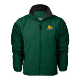 Dark Green Survivor Jacket-Lions w/Lion