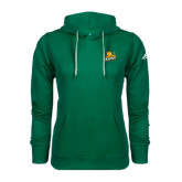 Adidas Climawarm Dark Green Team Issue Hoodie-Lions w/Lion