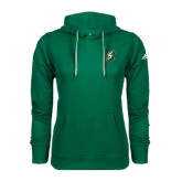 Adidas Climawarm Dark Green Team Issue Hoodie-S