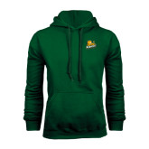 Dark Green Fleece Hood-Lions w/Lion