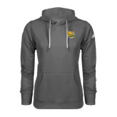 Adidas Climawarm Charcoal Team Issue Hoodie-Official Logo