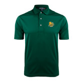 Dark Green Dry Mesh Polo-Official Logo