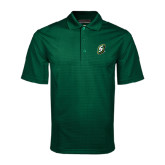 Dark Green Mini Stripe Polo-S