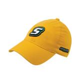 Gold Flexfit Mid Profile Hat-S