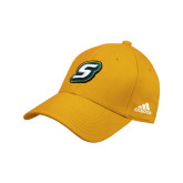 Adidas Gold Structured Adjustable Hat-S