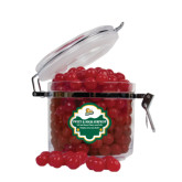 Sweet & Sour Cherry Surprise Round Canister-Lions w/Lion