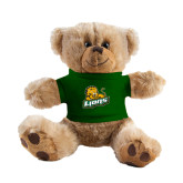 Plush Big Paw 8 1/2 inch Brown Bear w/Dark Green Shirt-Lions w/Lion
