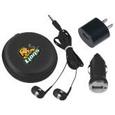 3 in 1 Black Audio Travel Kit-Lions w/Lion