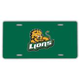 License Plate-Lions w/Lion
