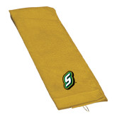 Gold Golf Towel-S