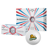 Callaway Supersoft Golf Balls 12/pkg-Lions w/Lion
