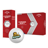 Callaway Chrome Soft Golf Balls 12/pkg-Lions w/Lion