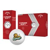 Callaway Chrome Soft Golf Balls 12/pkg-Lions w/Lion