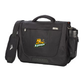 High Sierra Black Upload Business Compu Case-Lions w/Lion