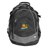 High Sierra Black Titan Day Pack-Lions w/Lion