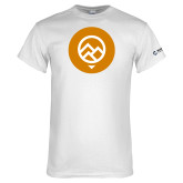 Comm College White T Shirt-Icon