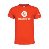 Youth Orange T Shirt-Stacked