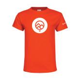 Youth Orange T Shirt-Icon