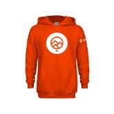 Comm College Youth Orange Fleece Hoodie-Icon