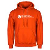 Comm College Orange Fleece Hoodie-Primary Mark