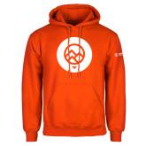 Comm College Orange Fleece Hoodie-Icon