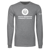 Grey Long Sleeve T Shirt-Stacked