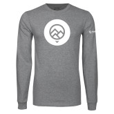 Grey Long Sleeve T Shirt-Icon